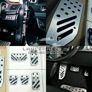 Exo X style oem/custom footrest for Mitsubishi Lancer / Proton Inspira AT.
