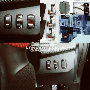 Fast charging Dual USB port, Perfect for Lancer Inspira EvoX ASX