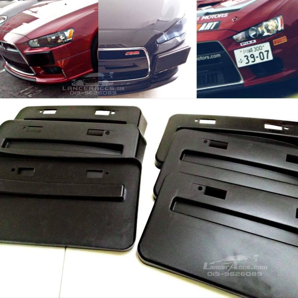 Lancer evo x sideplate holder, fits bumper evo