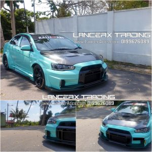Varis Ver3 EvoX Front Bumper for Mitsubishi Lancer Proton Inspira LATEST 2020 MODEL!