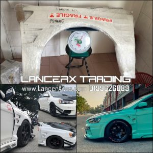 Varis fender for lancer inspira