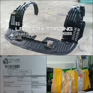 Undertray Daun Pisang Inspira Lancer GT Evo Varis Fq400 Tebal Besar